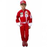 Macacão Piloto Fórmula 1 + Boné Infantil
